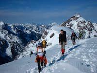Eileen, Tyson, and Ian on Mt....