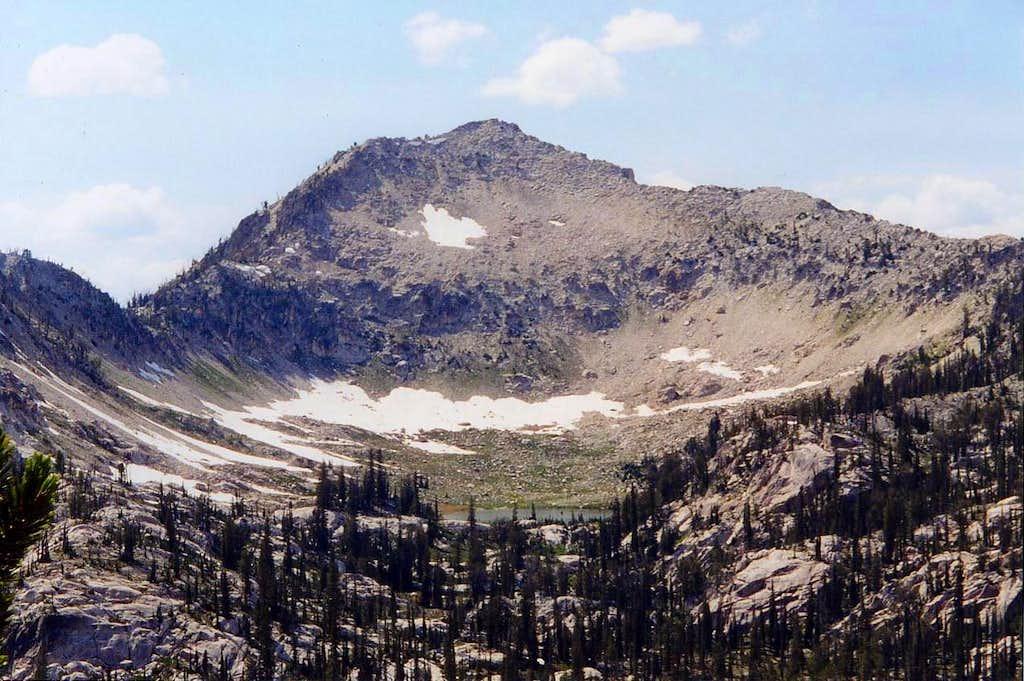 Arvals Peak in 1967