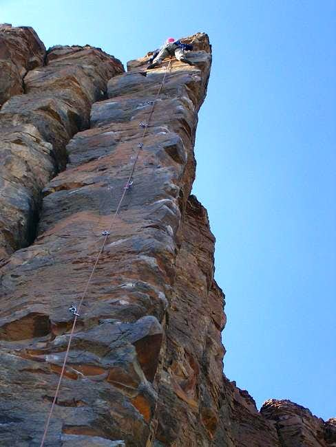 Mark just about topping out...
