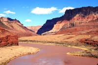 Colorado River along the Beamer Trail (upstream)