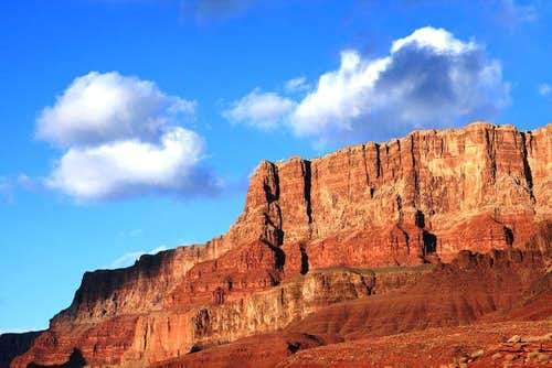 Palisades of the Desert from Colorado River