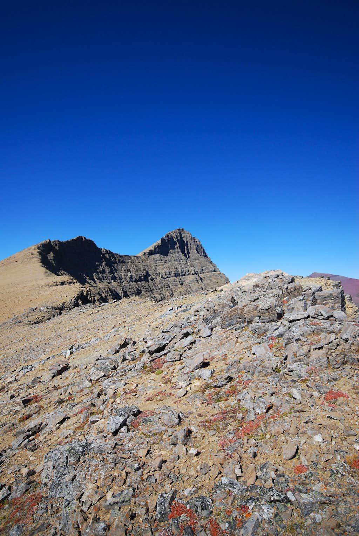 ridge between Crowfeet and Henkel