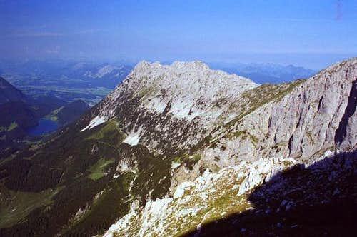 Scheffauer (2111 m), seen...