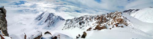 West Buttress Panorama