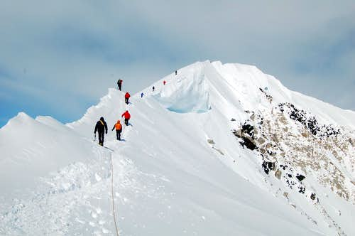 Denali\'s Summit Ridge