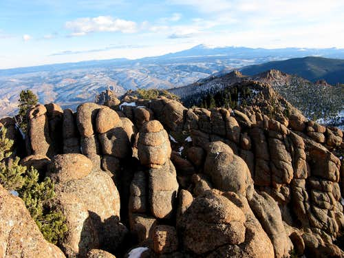 Granite Hoodoos on Tarryall Peak