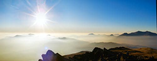 Snowdonia Temperature Inversion
