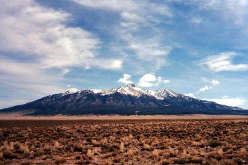 Blanca Massif from the...