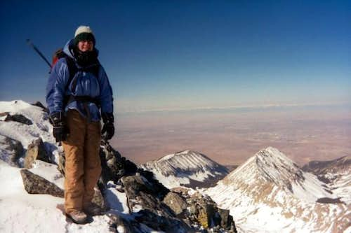 Blanca Peak Summit. March...