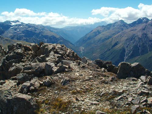 View of Arthur\'s Pass