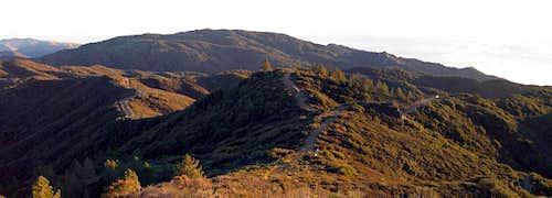 Silver Peak from Alder Peak