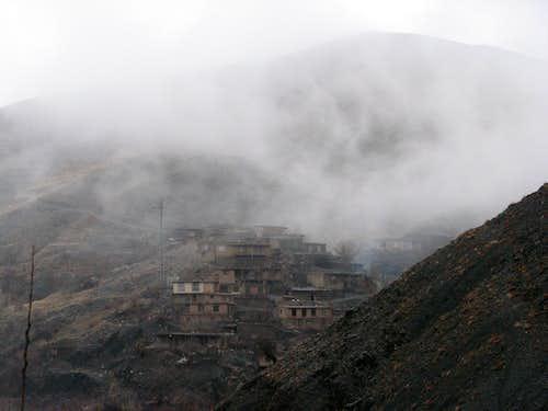 روستای زیبای کنگ (ماسوله خراسان)