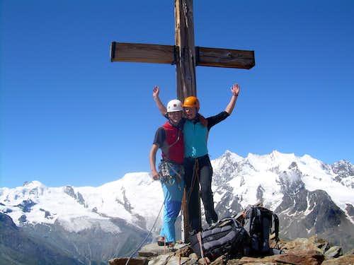 On the summit of Jägihorn