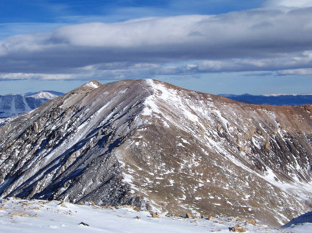 Mt. Cameron from the summit of Democrat