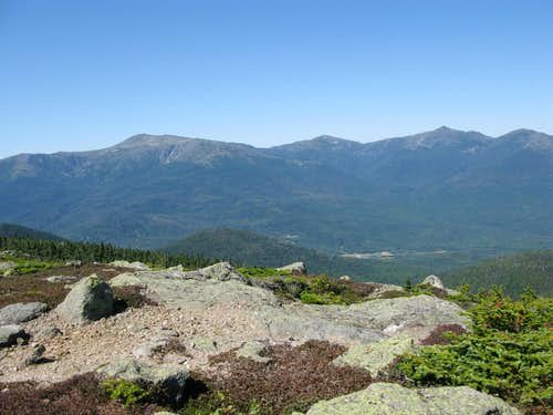 An Outstanding view of the Presidential Range from Mt. Hight