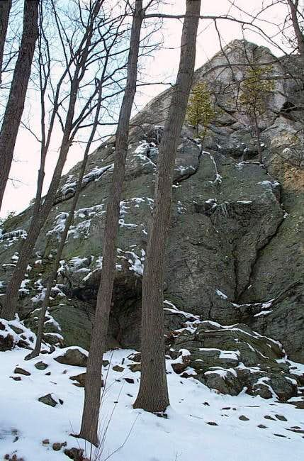 Rock Rimmon, West Wall (Slabs)