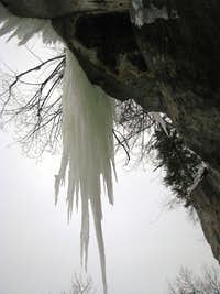 an icicle