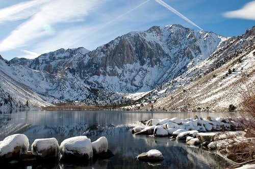 Convict Lake and Laurel Mountain