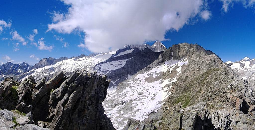 Panoramas from Bernese Alps