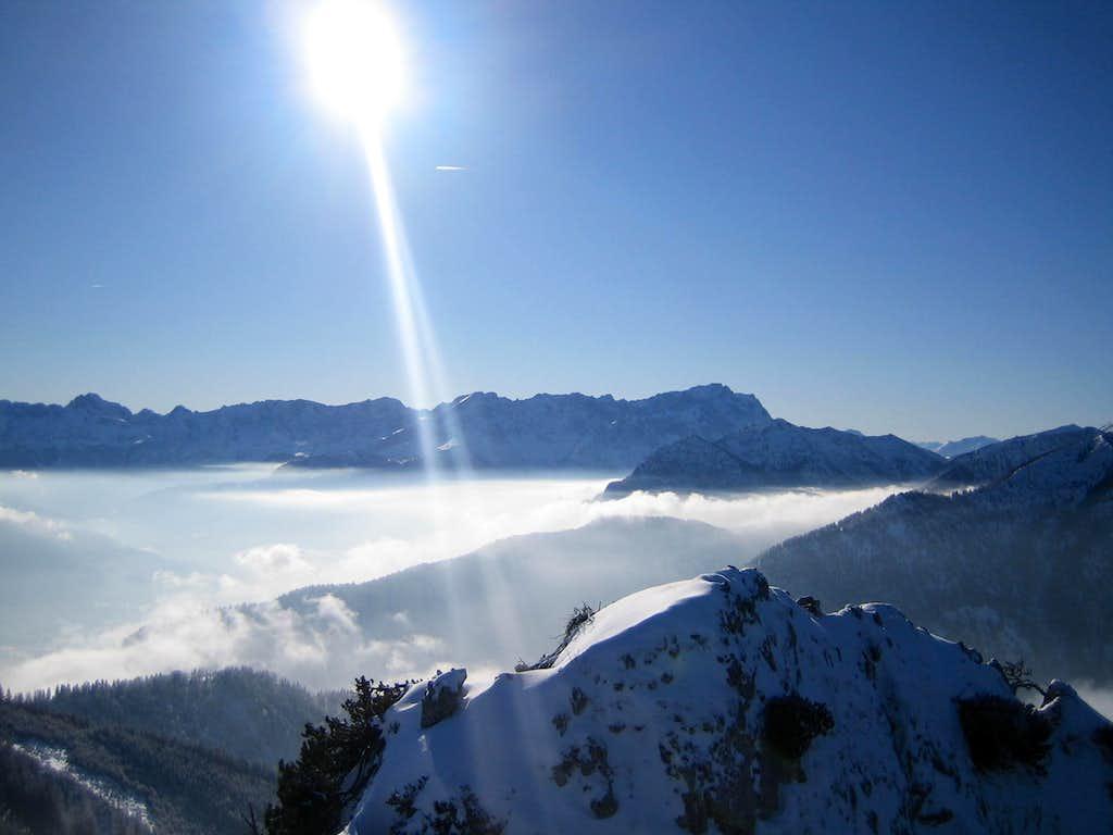 Zugspitze, Alpspitze and Jubiläumsgrat