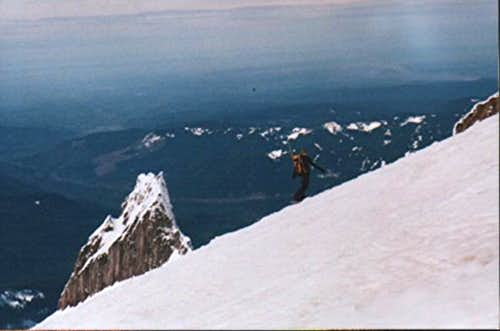 Mt. Hood, Andrew.snowboarding...