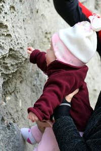Youngest climber ever :-)