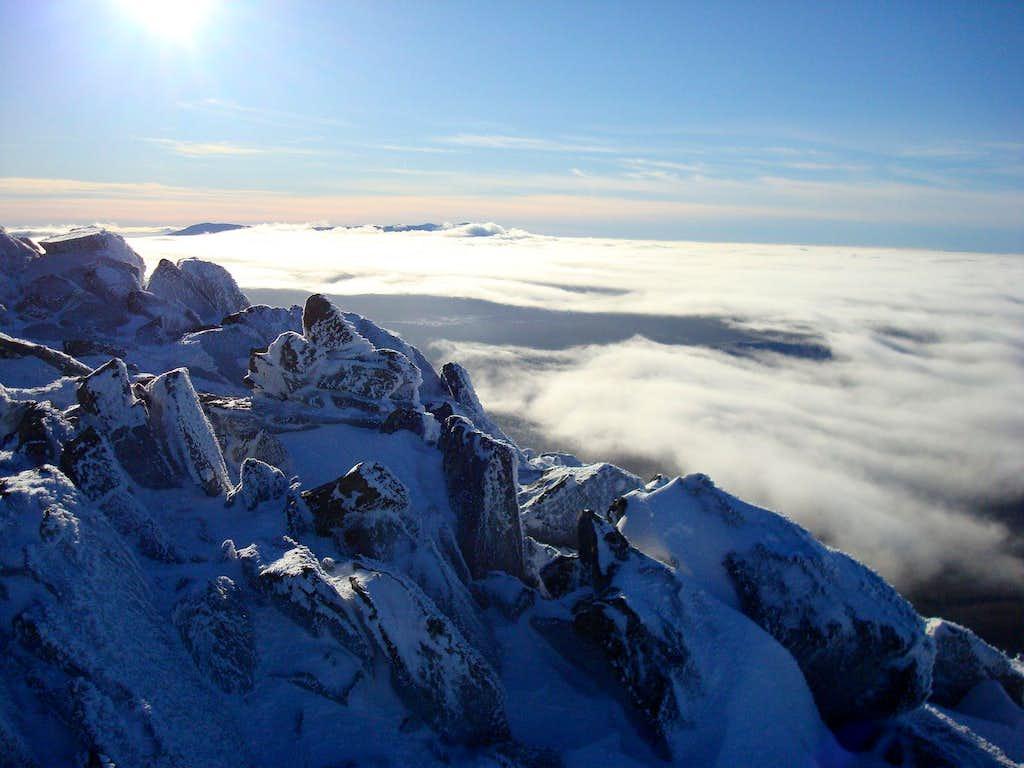 Castle Ridge view
