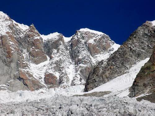 il ghiacciaio de la Brenva
