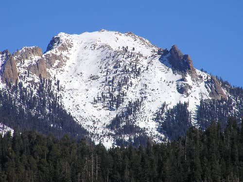 Alta Peak West Face