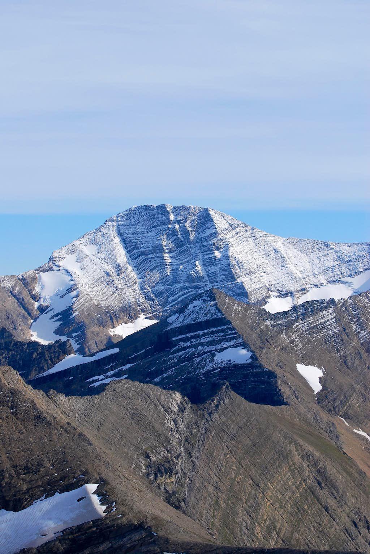 northwest slope of Mount Jackson
