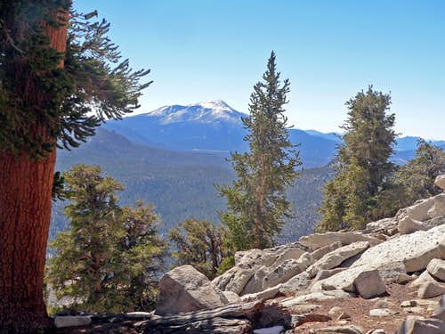 Olancha Peak from Trail Peak