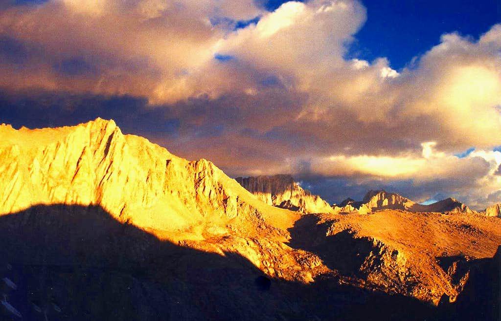 Lone Pine High Sierra at dawn