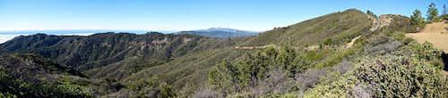 Alder Peak Panorama.