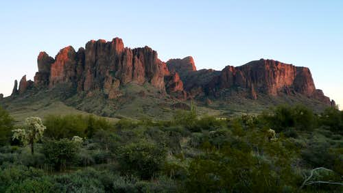 Northern View from Lost Dutchman Camp