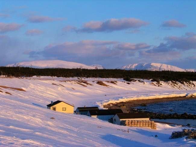 Seasonal Fishing Village with...