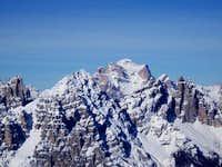 Monte Pelmo in winter from...