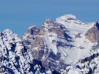 Monte Pelmo in winter...