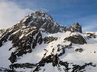 Peña Ubiña north face