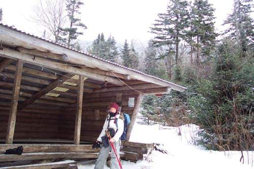 Baldpate leanto