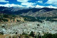 Huaraz seen from the W...