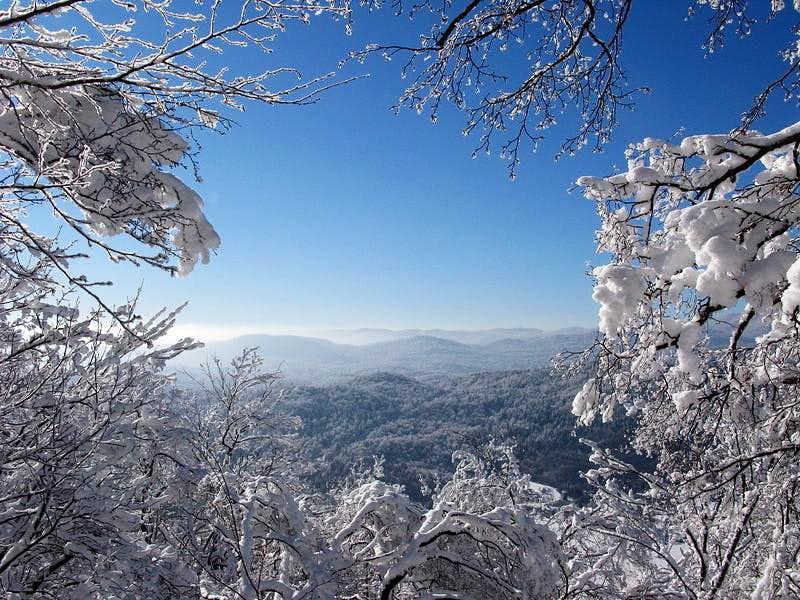 Winter detail from Bjelsko route