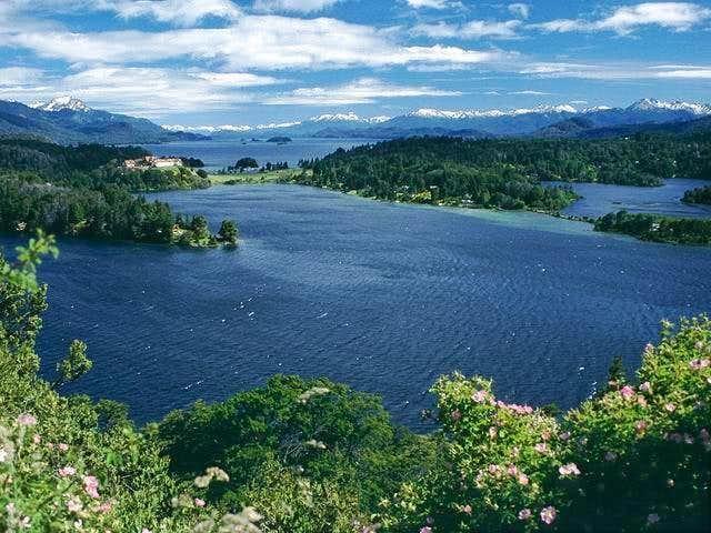 Lago Nahuel Huapi near Cerro...