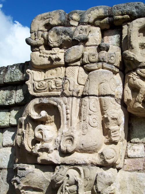 Mayan carvings