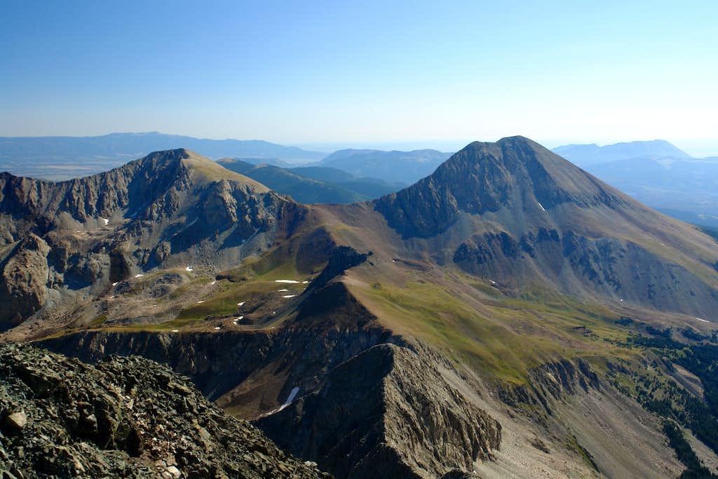 Mount Lindsey and Huerfano Peak