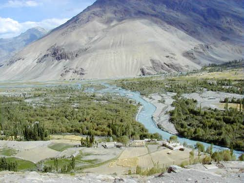 Chitral Valley, Hinduksh Range, Pakistan