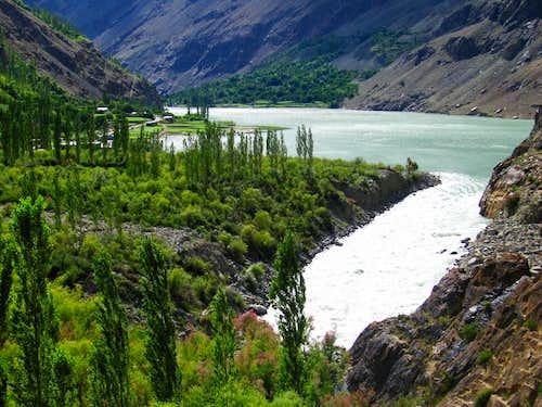 Chitral Valley, Hindukush Range, Pakistan