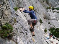 Climbing Sardinia
