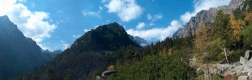View to Malá & Veľká Studená Dolina