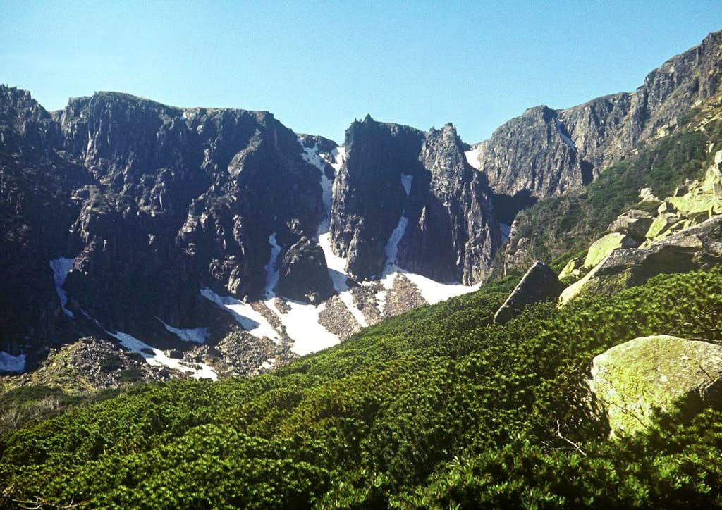 Craggiest Cirque between Alps and North Sea