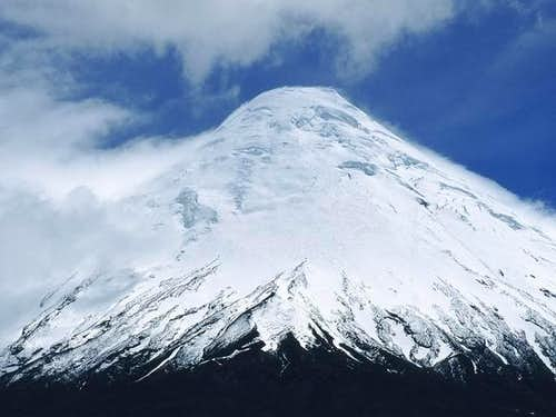 Volcán Osorno seen from...